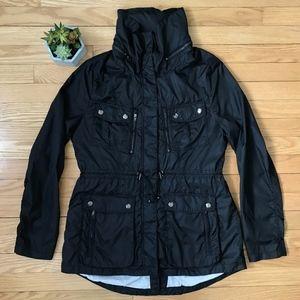Black Rivet Performance Jacket Black Ladies Large